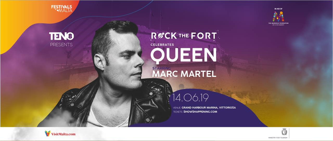 Rock The Fort celebrates QUEEN ft. Marc Martel