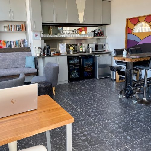Penthouse as a work space