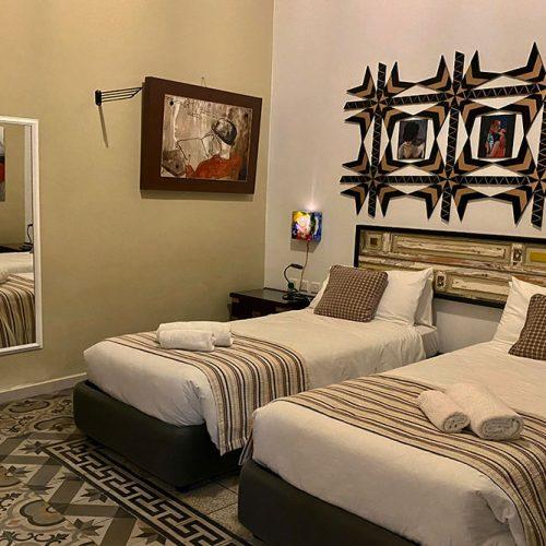 Room 616 - Beds